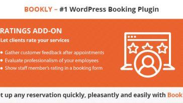 Download Bookly Ratings (Add-on)  - Free Wordpress Plugin