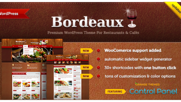 Download Bordeaux - Premium Restaurant Theme Free