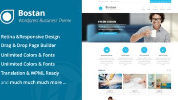 Download Bostan Business - Business Theme Free