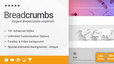 Download Breadcrumbs Addon for WPBakery Page Builder (formerly Visual Composer)  - Free Wordpress Plugin