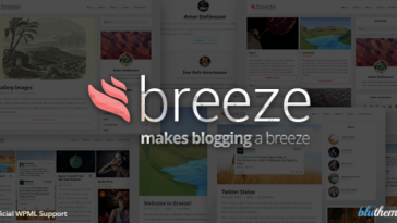 Download Breeze - Minimalist Responsive Personal Blog Free