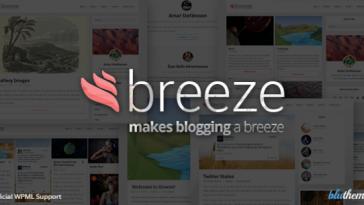 Download Breeze - Minimalist Responsive Personal Blog Free