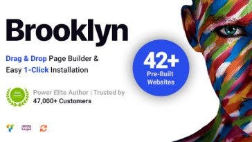 Download Brooklyn - Creative Multipurpose Responsive WordPress Theme Free