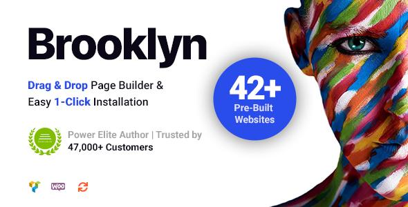 Download Brooklyn - Creative Multipurpose Responsive WordPress Theme Free