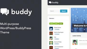 Download Buddy - Multi-Purpose WordPress/BuddyPress Theme Free