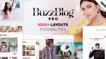 Download BuzzBlog - Massive Multi-Purpose WordPress Blog Theme Free