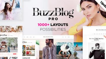 Download BuzzBlog - Massive Multi-Purpose WordPress Blog Theme Free
