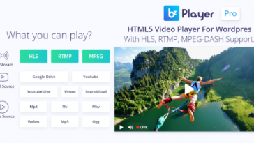 Download bzplayer Pro Live Streaming Player WordPress Plugin - Free Wordpress Plugin