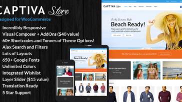 Download Captiva v.6.7.5 - Responsive WordPress WooCommerce Theme Free