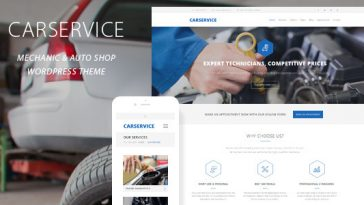 Download Car Service - Mechanic Auto Shop WordPress Theme Free
