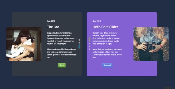 Download Card Slider Addon for WPBakery Page Builder (formerly Visual Composer) - Free Wordpress Plugin