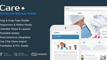 Download Care - Medical and Health Blogging WordPress Theme Free