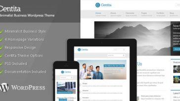 Download Centita - Minimalist Business Wordpress Theme Free