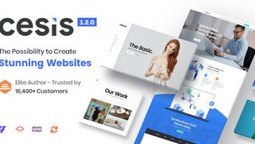Download Cesis - Responsive Multi-Purpose WordPress Theme Free