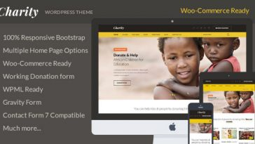 Download Charity - Nonprofit/NGO/Fundraising WordPress Theme Free