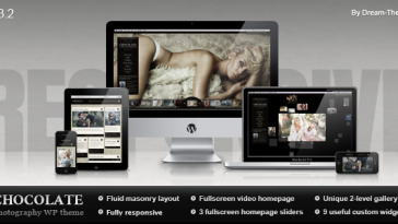 Download Chocolate WP - Responsive Photography Theme Free
