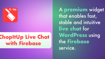 Download ChopItUp Live Chat with Firebase  - Free Wordpress Plugin