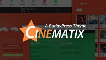 Download Cinematix - BuddyPress Community Theme Free