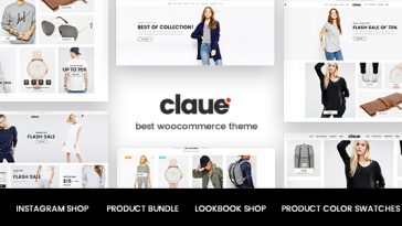 Download Claue v.1.1.4 - Clean, Minimal WooCommerce Theme Free
