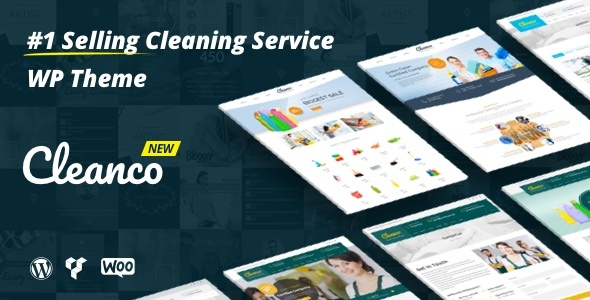 Download Cleanco - Cleaning Service Company WordPress Theme Free