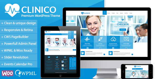 Download Clinico v.3.3.1 - Premium Medical and Health Theme Free