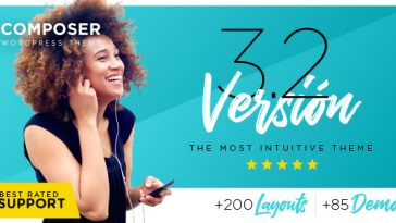 Download Composer v.3.2.5 - Responsive Multi-Purpose High-Performance WordPress Theme Free
