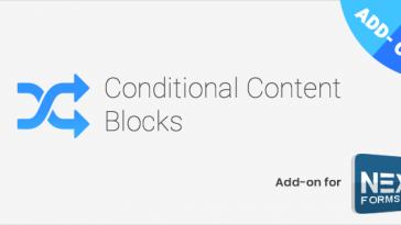 Download Conditional Content Blocks for NEX-Forms  - Free Wordpress Plugin