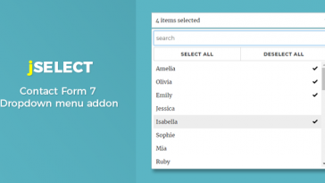Download Contact Form 7 jSelect dropdown menu - Free Wordpress Plugin