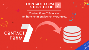 Download Contact Form 7 Store to DB CF7 Extension to Store Form Entries (Fully GDPR Compliance) - Free Wordpress Plugin