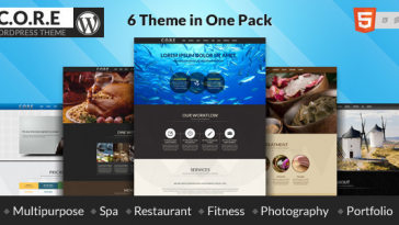 Download Core One v.4.9.1 - Multipurpose One Page Theme Free