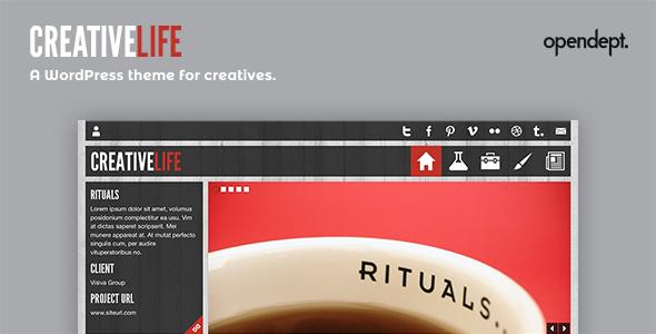 Download CreativeLife - WordPress Theme For Creatives Free