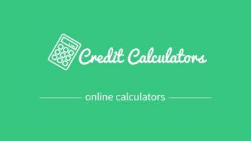 Download Credit calculators  - Free Wordpress Plugin