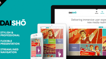Download Daisho - Flexible WordPress Portfolio Theme Free