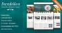 Download Dandelion - Powerful Elegant WordPress Theme Free