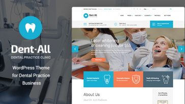 Download Dent-All - Medical, Dental Clinic, Healthcare, Dentist WordPress Theme Free