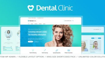 Download Dental Clinic - Medical & Dentist WordPress Theme Free