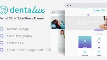 Download Dentalux - A Dentist Medical & Healthcare WordPress Theme Free