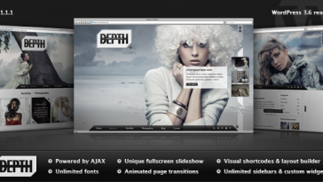 Download Depth - Full-Screen AJAX Portfolio WordPress Theme Free