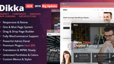 Download Dikka v.4.2.4 - Responsive Multi-Concept WordPress Theme Free
