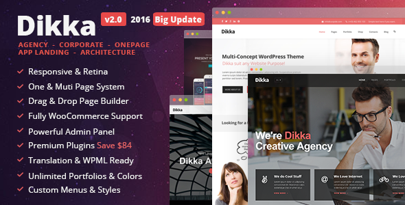 Download Dikka v.4.2.4 - Responsive Multi-Concept WordPress Theme Free