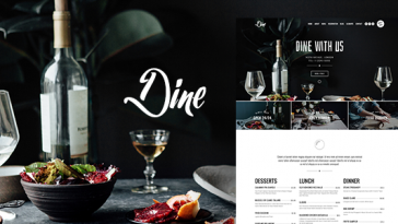 Download Dine - Elegant Restaurant WordPress Theme Free