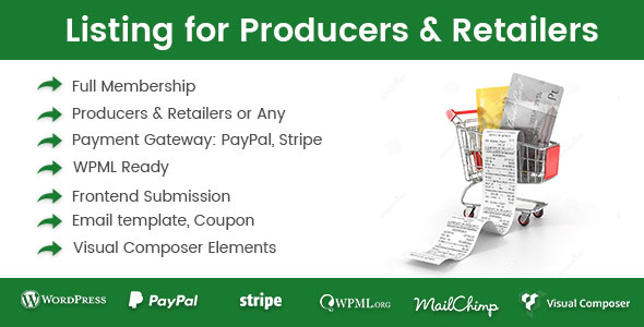 Download Directory Listing for Producers & Retailers  - Free Wordpress Plugin