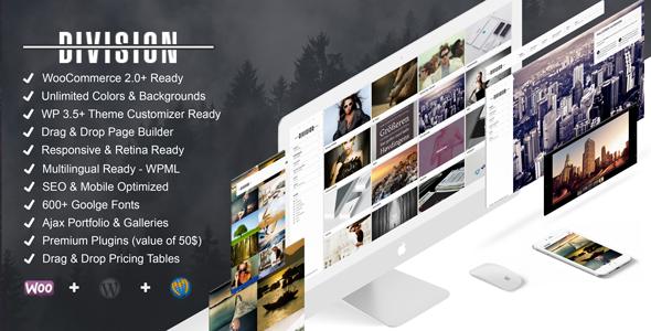 Download Division v.2.9.7 - Fullscreen Portfolio Photography Theme Free