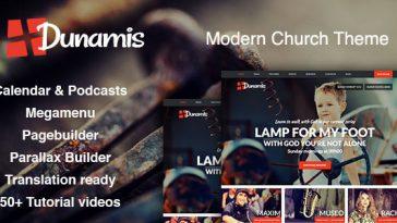 Download Dunamis v.1.5 - Modern Church theme Free