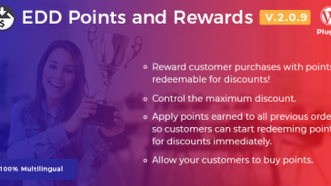 Download Easy Digital Downloads Points and Rewards - Free Wordpress Plugin