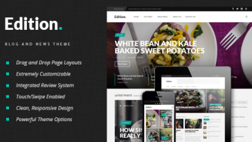 Download Edition - Responsive News and Magazine Theme Free