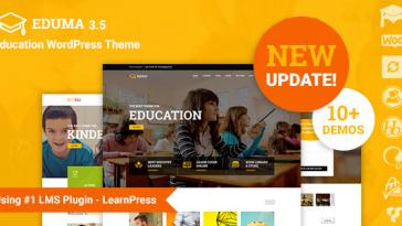 Download Education WP - Education WordPress Theme Free