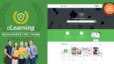 Download eLearning WP - LMS WordPress Theme for Education, eLearning and Online Courses Free