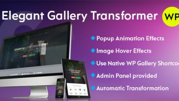 Download Elegant Gallery Transformer  - Free Wordpress Plugin
