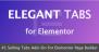 Download Elegant Tabs for Elementor  - Free Wordpress Plugin